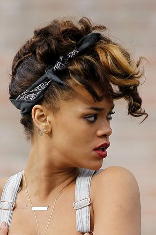Rihanna Hair Style File Rihanna, Vintage hair and Hair