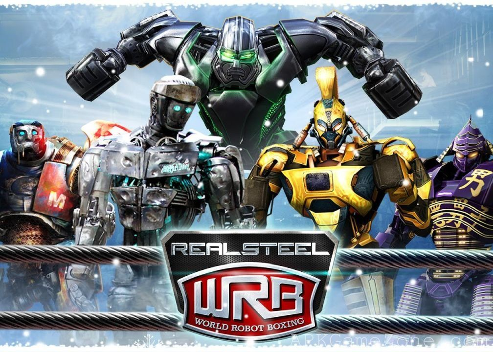 Real Steel World Robot Boxing Money Mod Download APK