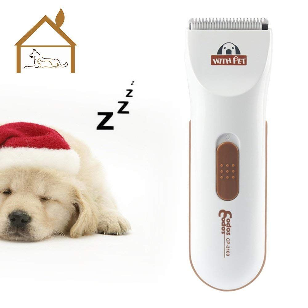 Bovon Professional Dog Clippers Low Noise Pet Hair Clippers Cordless Dog Trimmer Pet Grooming Tools With Stainle Dog Clippers Pet Grooming Tools Pet Grooming