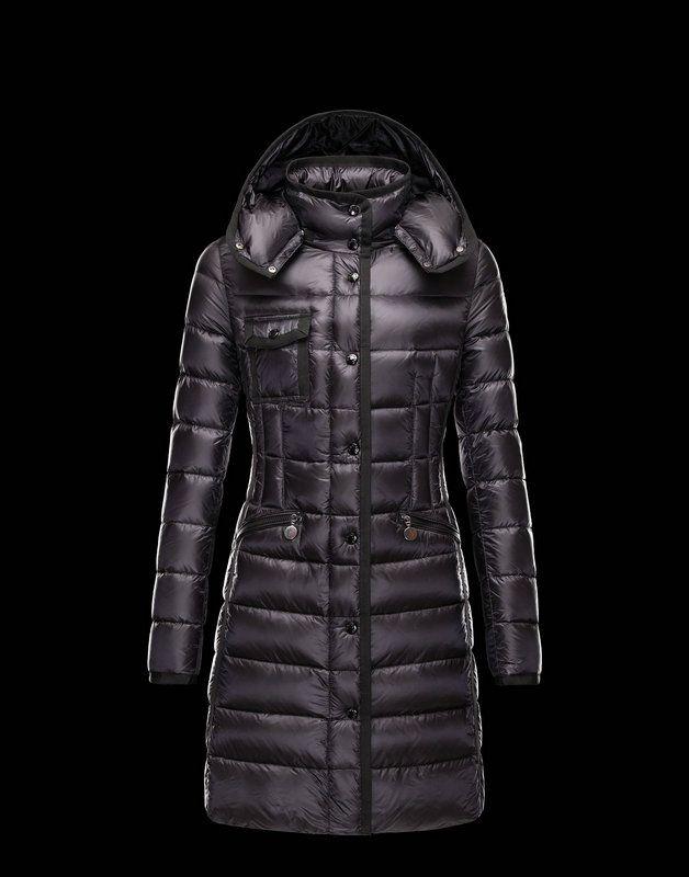 €310.22 Moncler Femmes Manteaux Hermine Noir | Clothes | Pinterest | Moncler,  Fashion street styles and Warm coat