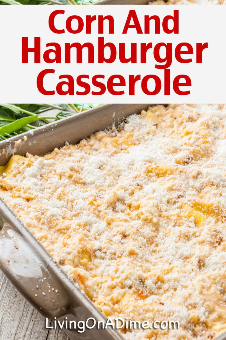 Hamburger Casserole Recipes - Quick And Easy Meals! images