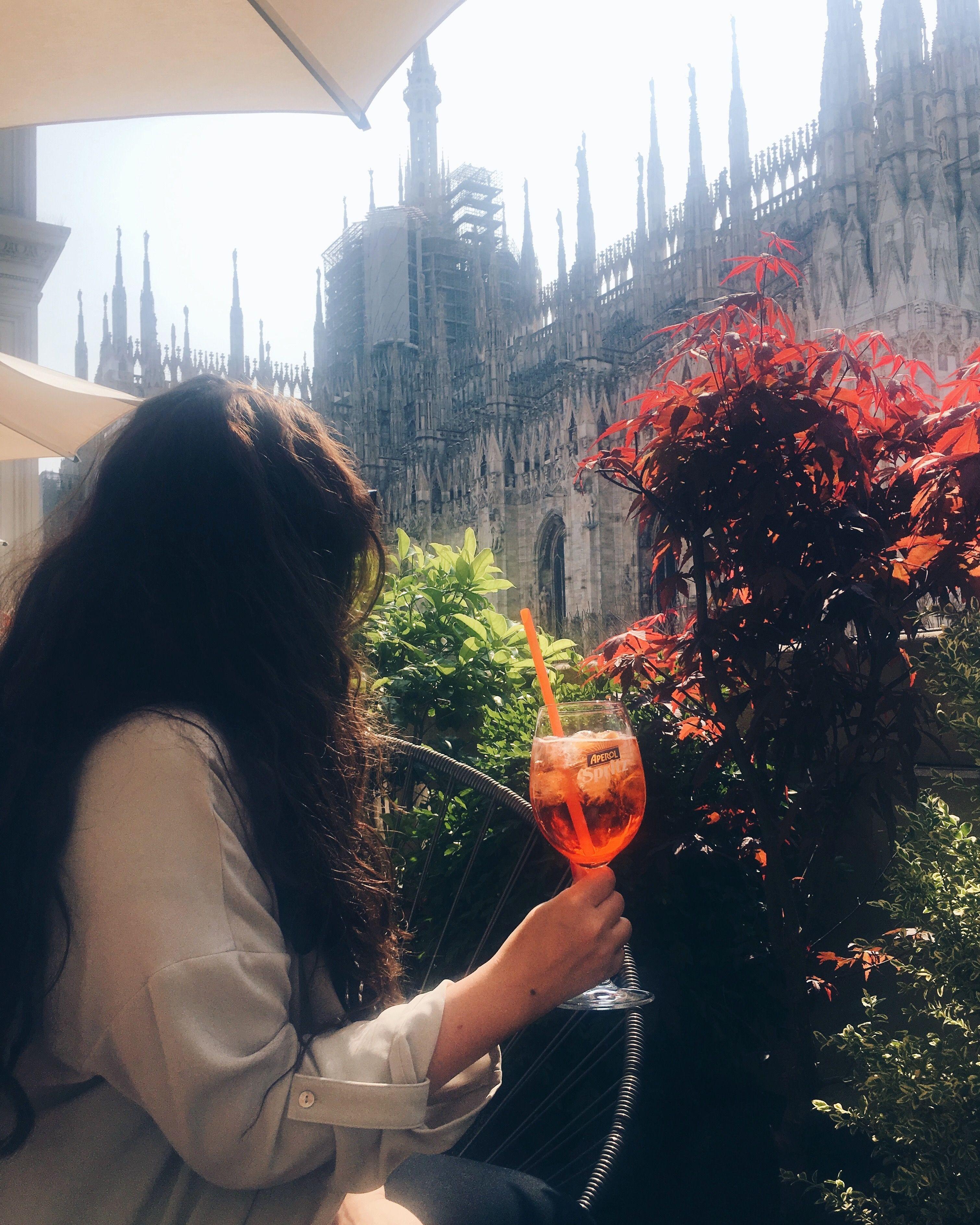 Duomo Di Milano Terrazza Aperol Instagram