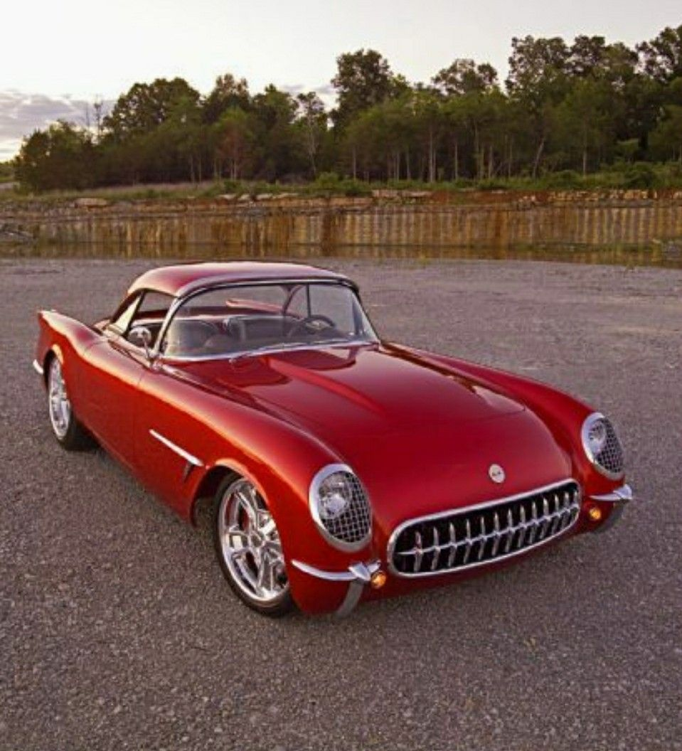 Old Sports Cars, Classic Cars, Chevy Corvette