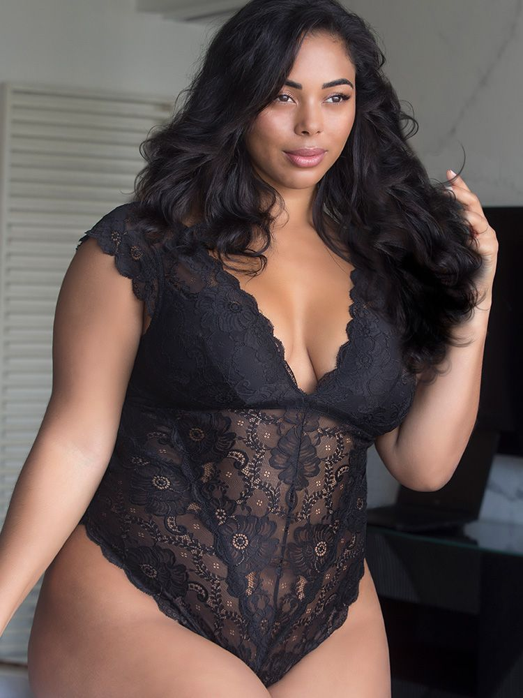 81d3a4d1d5e95 Made in a soft floral lace teddy with a cap sleeve silhouette. Padded cups with  removable pads.