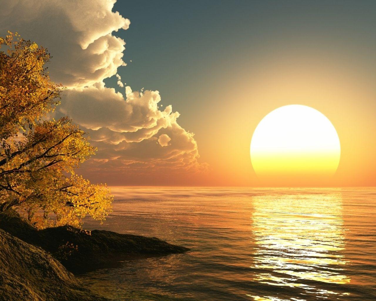 Maravillosas Imagenes De Paisajes Del Mar Orto Paisajes Paisaje Amanecer
