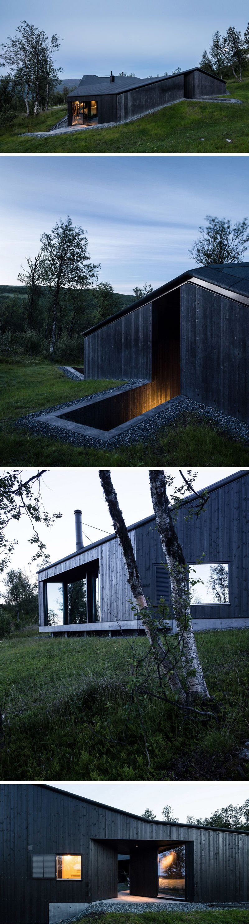 14 Examples Of Modern Houses With Black Exteriors Wood siding