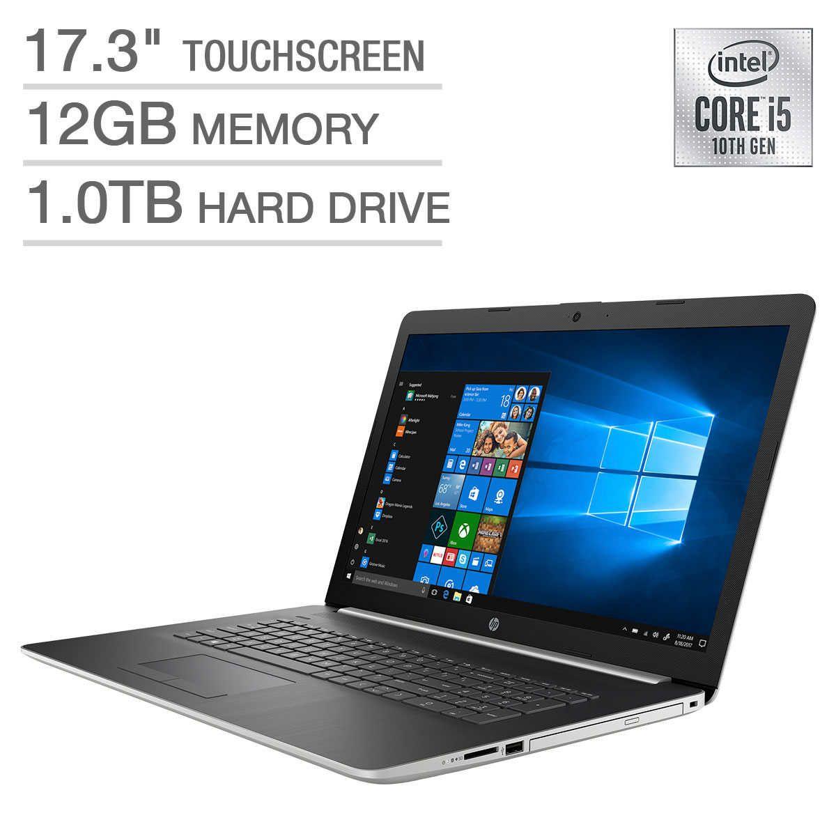 Hp 17 3 Laptop 10th Gen Intel Core I5 10210u Touch Screen Intel Core Laptop