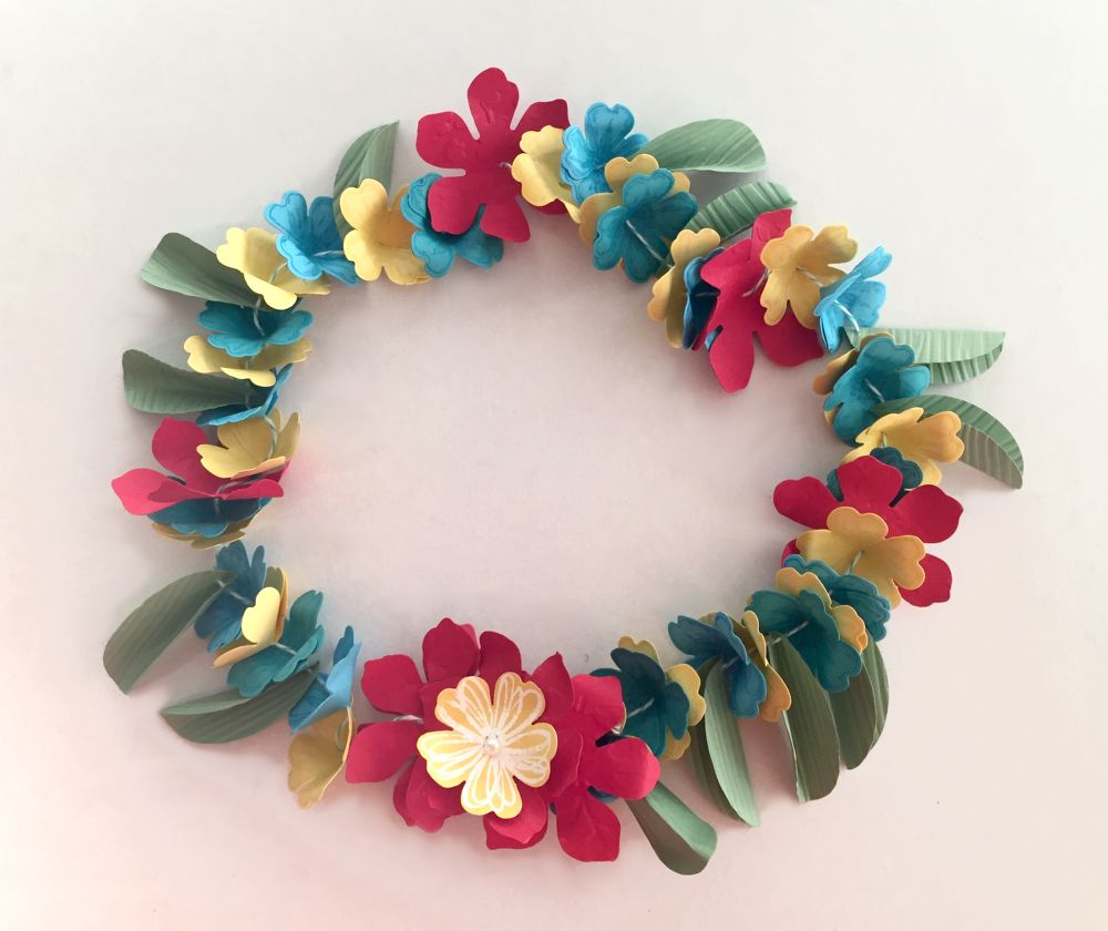 Flower Lei Stampin Up Style Come And Join Us On A Hawaiian