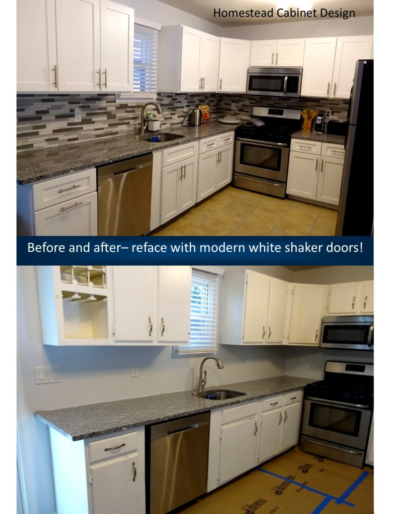 Update Your Kitchen Without Remodeling Check Out Homestead Cabinet Design For More Options In 2020 Cabinet Design Cabinet Cabinet Refacing