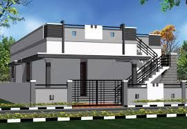 Elevations Of Independent Houses Google Search Small House Front Design House Front House Wall Design