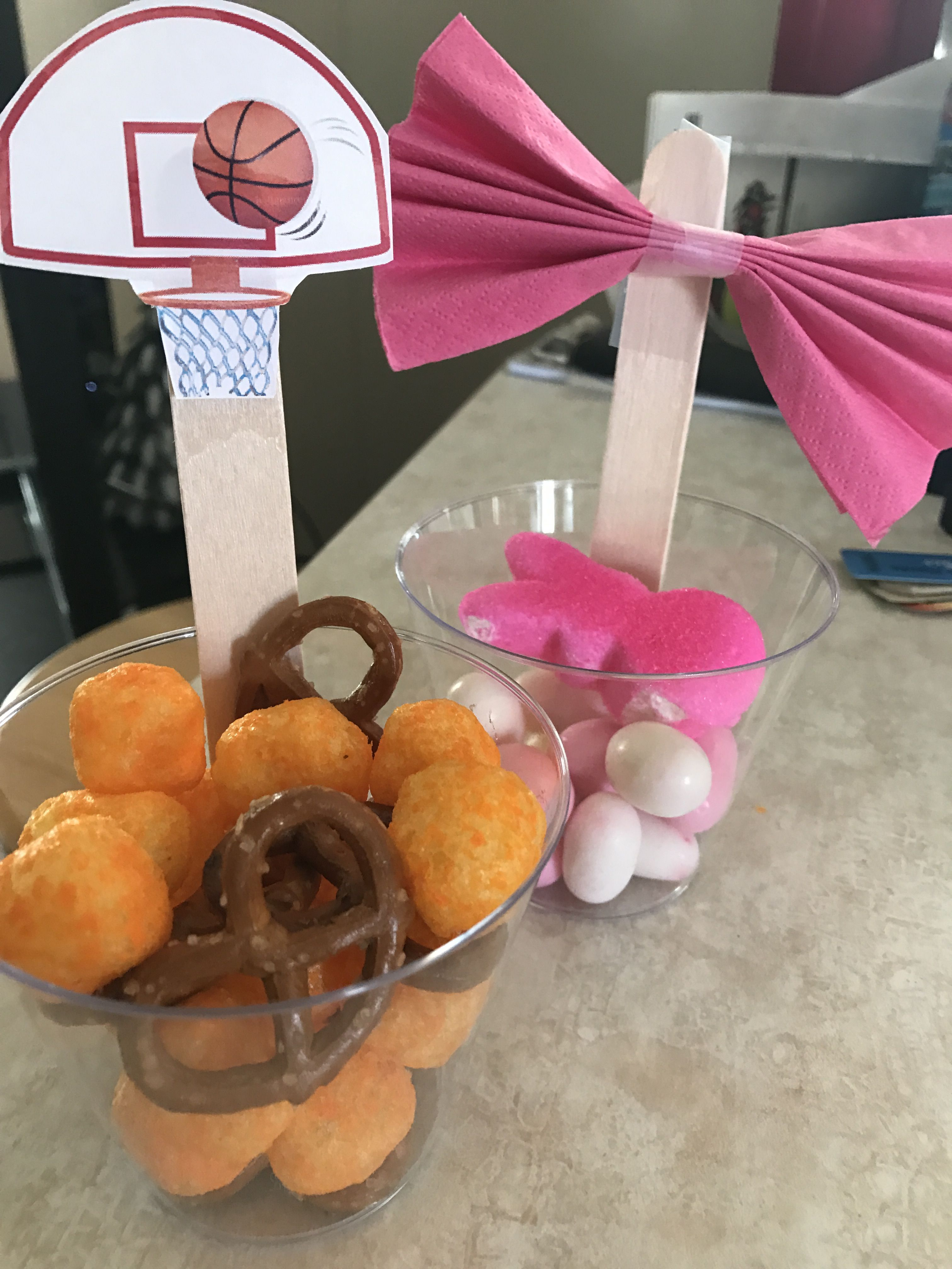 Pretty bows or Free Throws, Gender Reveal Party | Maternity