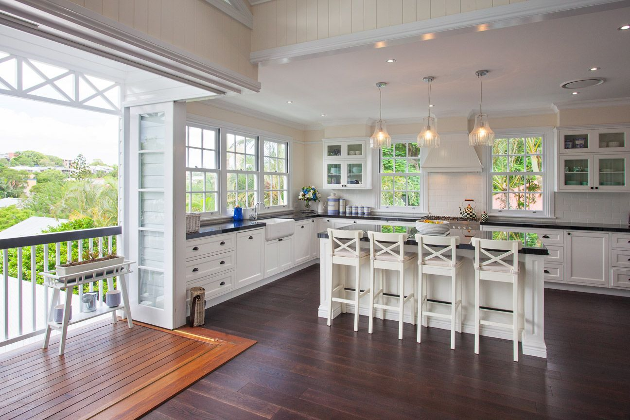 Hamptons Decor Australia Queenslander Hampton Style House Kitchens The