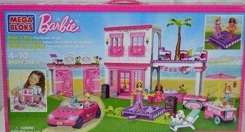 Barbie - Mega Bloks Build n Play Beach House #MegaBrands #Causal