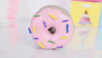 DIY Como Fazer Porta Fita de Donuts Fácil | Larissa Vale
