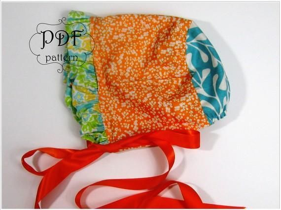 Baby Bonnet Sewing Pattern | Pinterest | Baby bonnets, Sewing ...