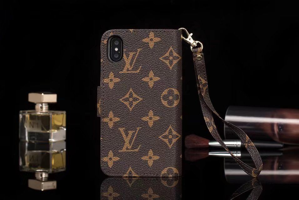 Classic lv gucci iphone x iphone 7 plus wallet case coque
