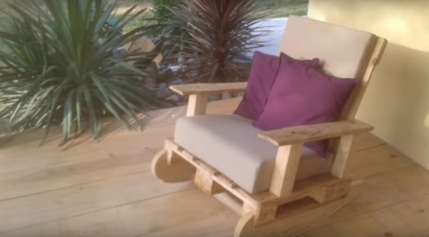 Comment Faire Un Rocking Chair En Palette Chaise Fauteuil Chaise A Bascule Rocking Chair