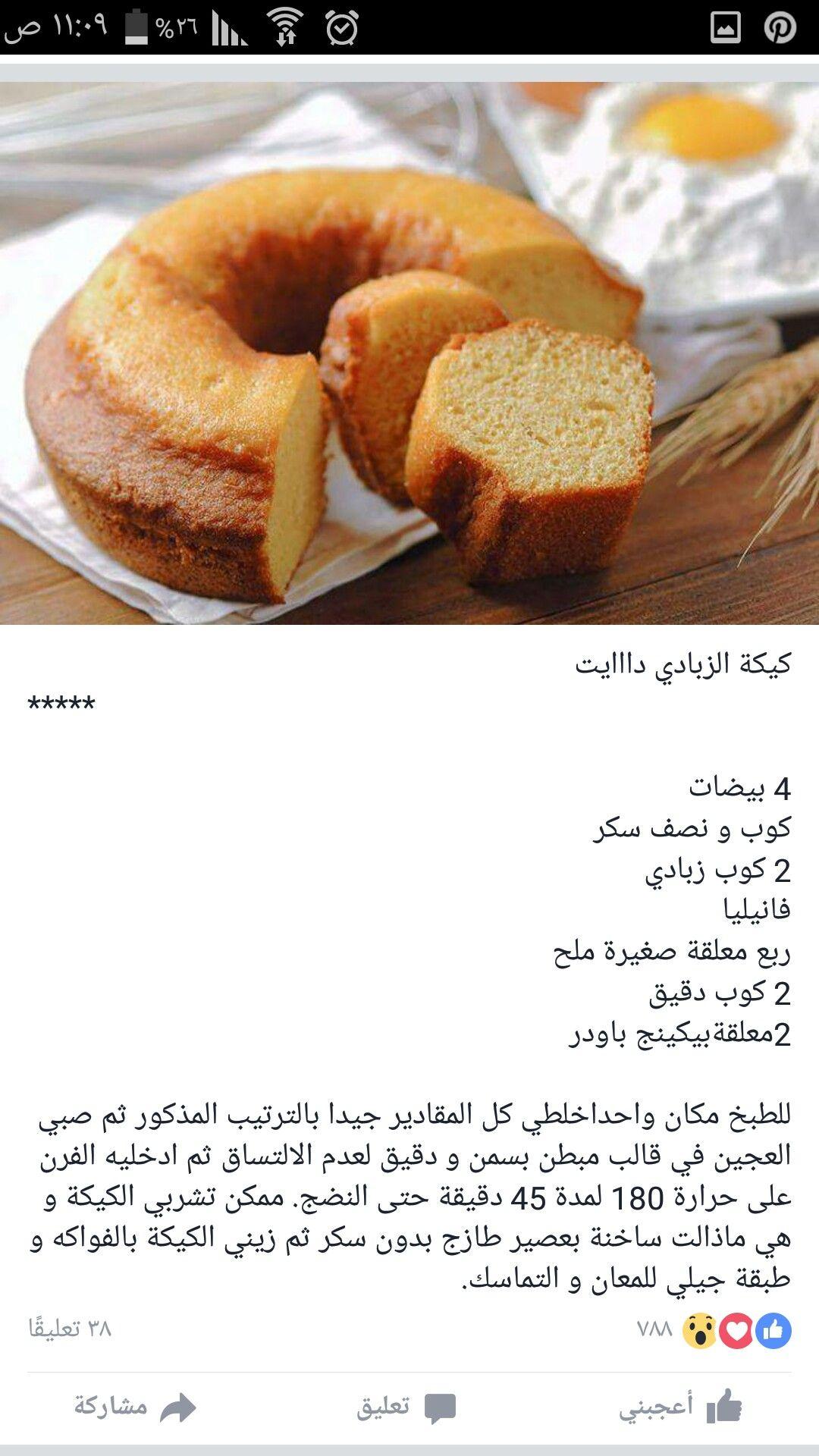 كيكة الزبادي Healthy Dessert Food Desserts