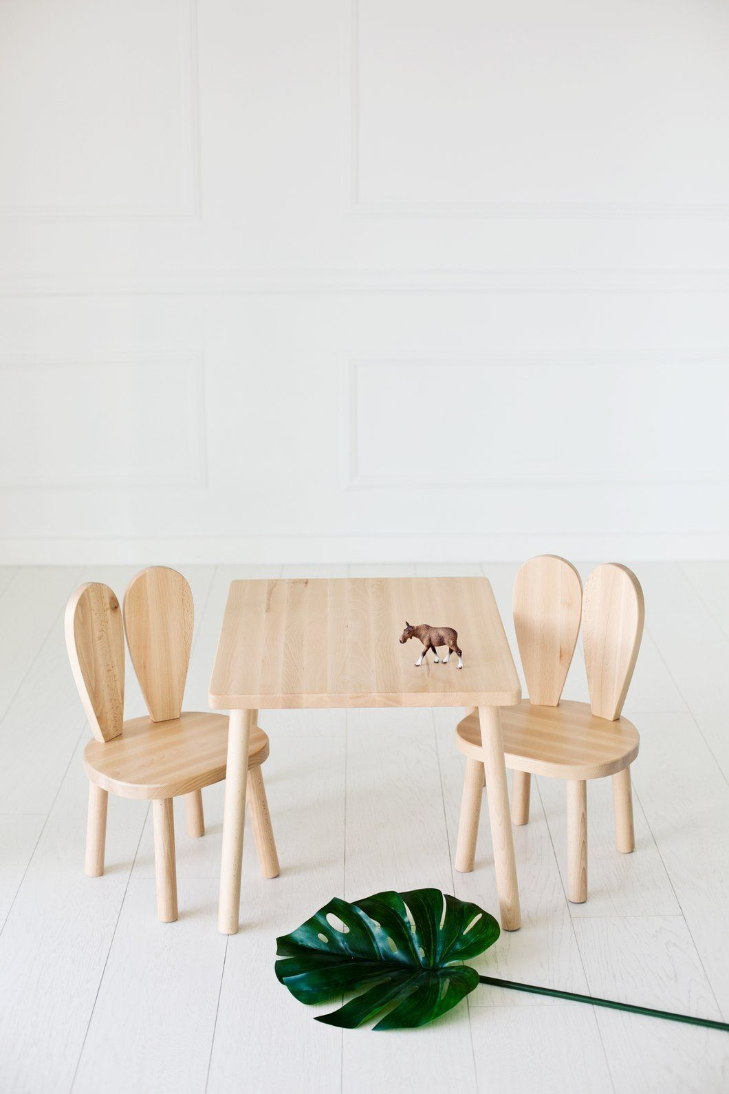 Littlenomad Bunny Chair And Table Chaise Enfant A Table