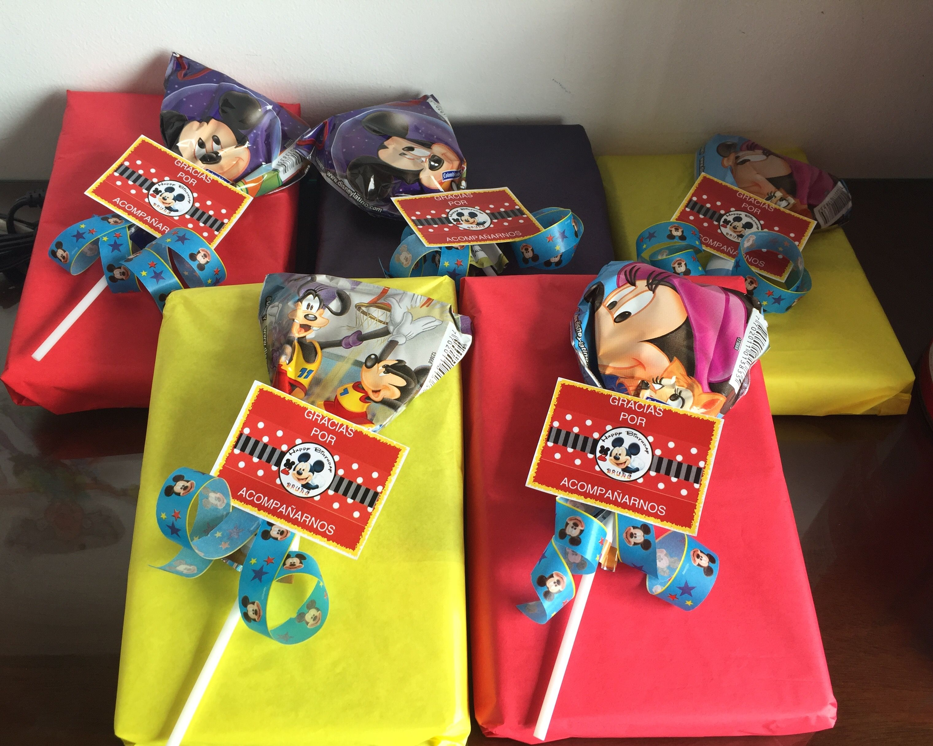 Regalos sorpresa para ni os fiesta mickey mouse - Regalos para pinatas ...