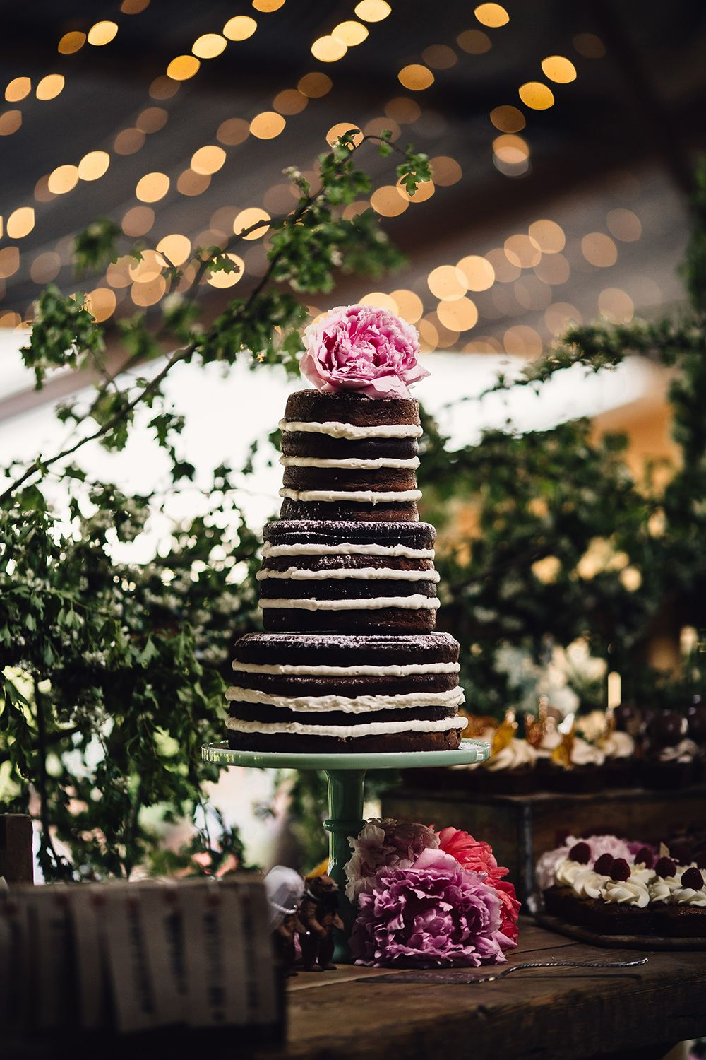 Fun Wedding At Cripps Stone Barn With Hey Style Styling Props - Cheltenham Wedding Cakes