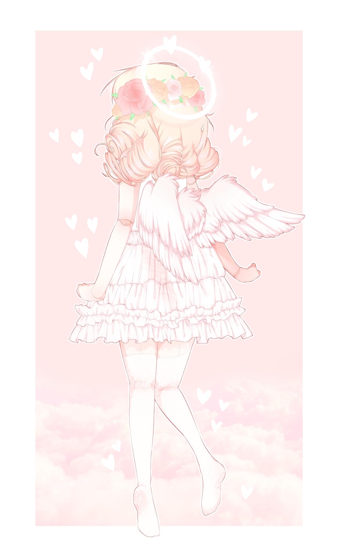 """yeagart """" ♡ ♡ sweet angel angelic aesthetic cute kawaii"""