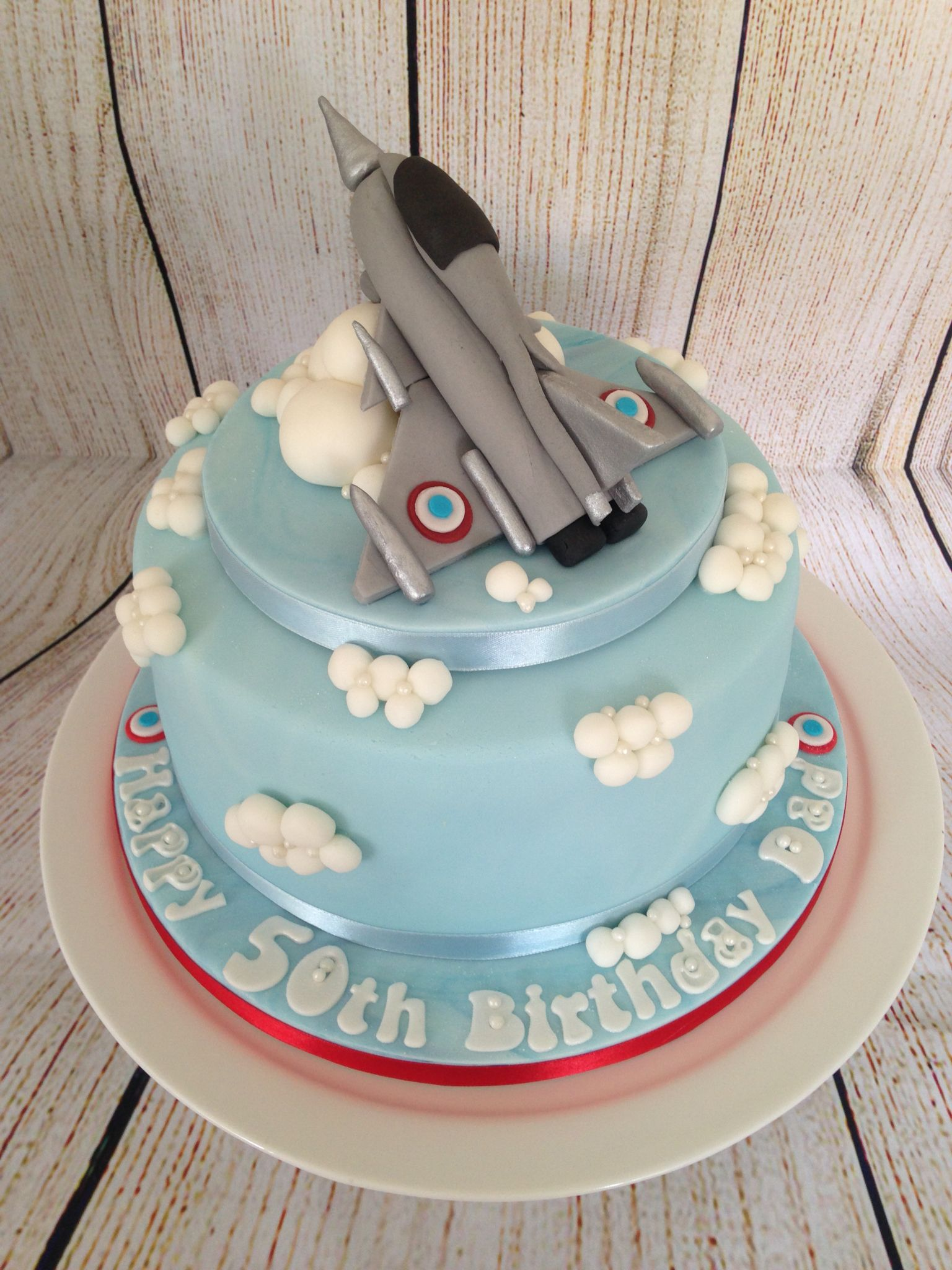 Fighter Plane Cake