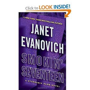 Smokin' Seventeen by Janet Evanovich.  No I still haven't read it.  I will get to it, but the 16th book didn't impress me too much, so I'm waiting a bit.  I probably need to miss the characters some before I pick this one up.