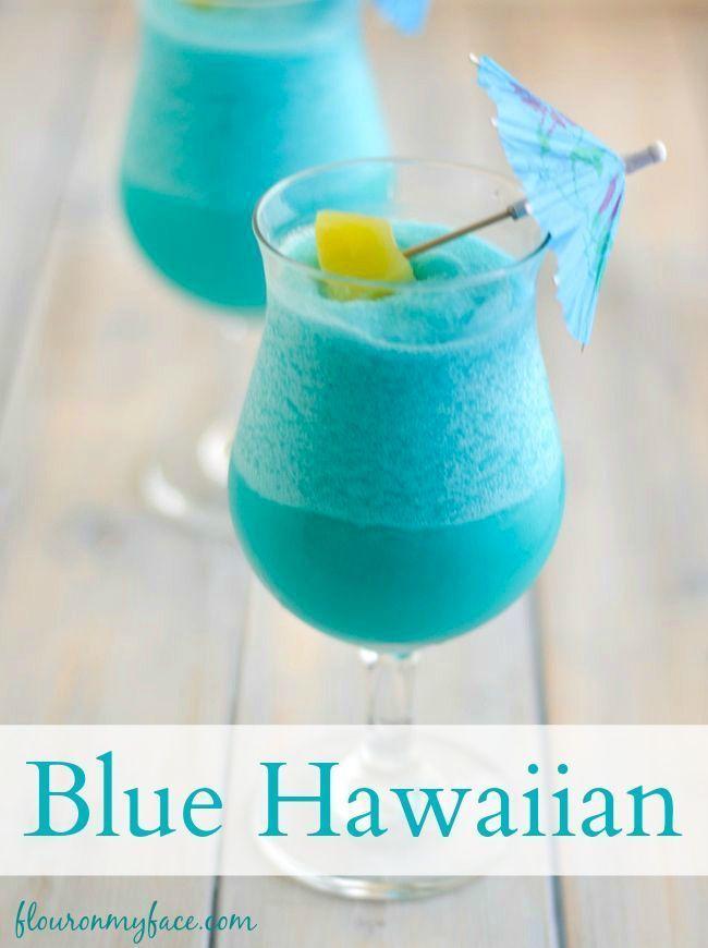 Photo of Blue Hawaiian Cocktail – Flour On My Face
