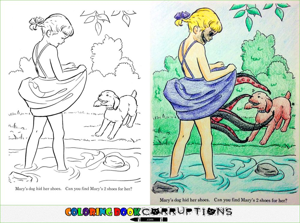 Brilliantly Corrupted Coloring Books Thatll Ruin Your Childhood Photo Album RAPTOR VAG