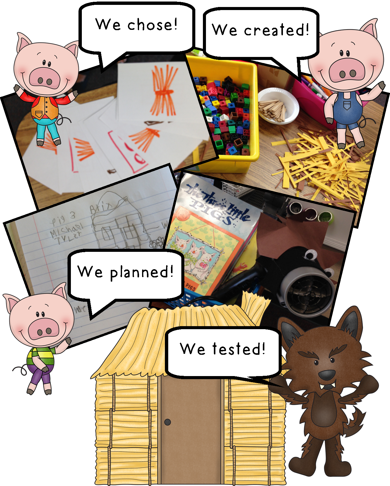 The Three Little Pigs And The Big Bad Challenge