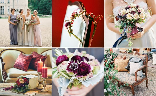9 New Fall Wedding Trends We Love Right Now!   Photo by: Clockwise from left: Steve Steinhardt Photography; Mi Belle Photography; Steve Steinhardt Photography; Todd White Photography; Christina McNeill Photography; Steve Steinhardt Photography   TheKnot.com
