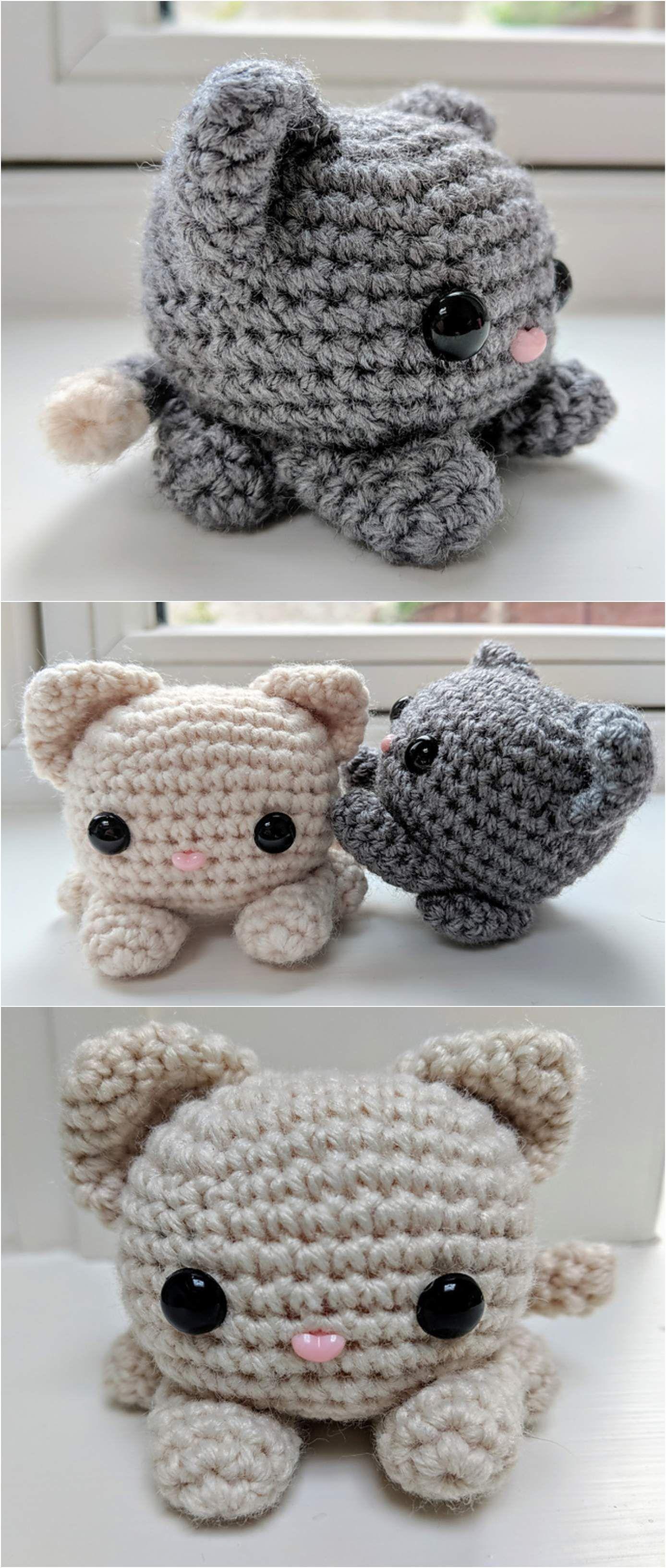 Crochet cutest Kitty Cat #kittycats