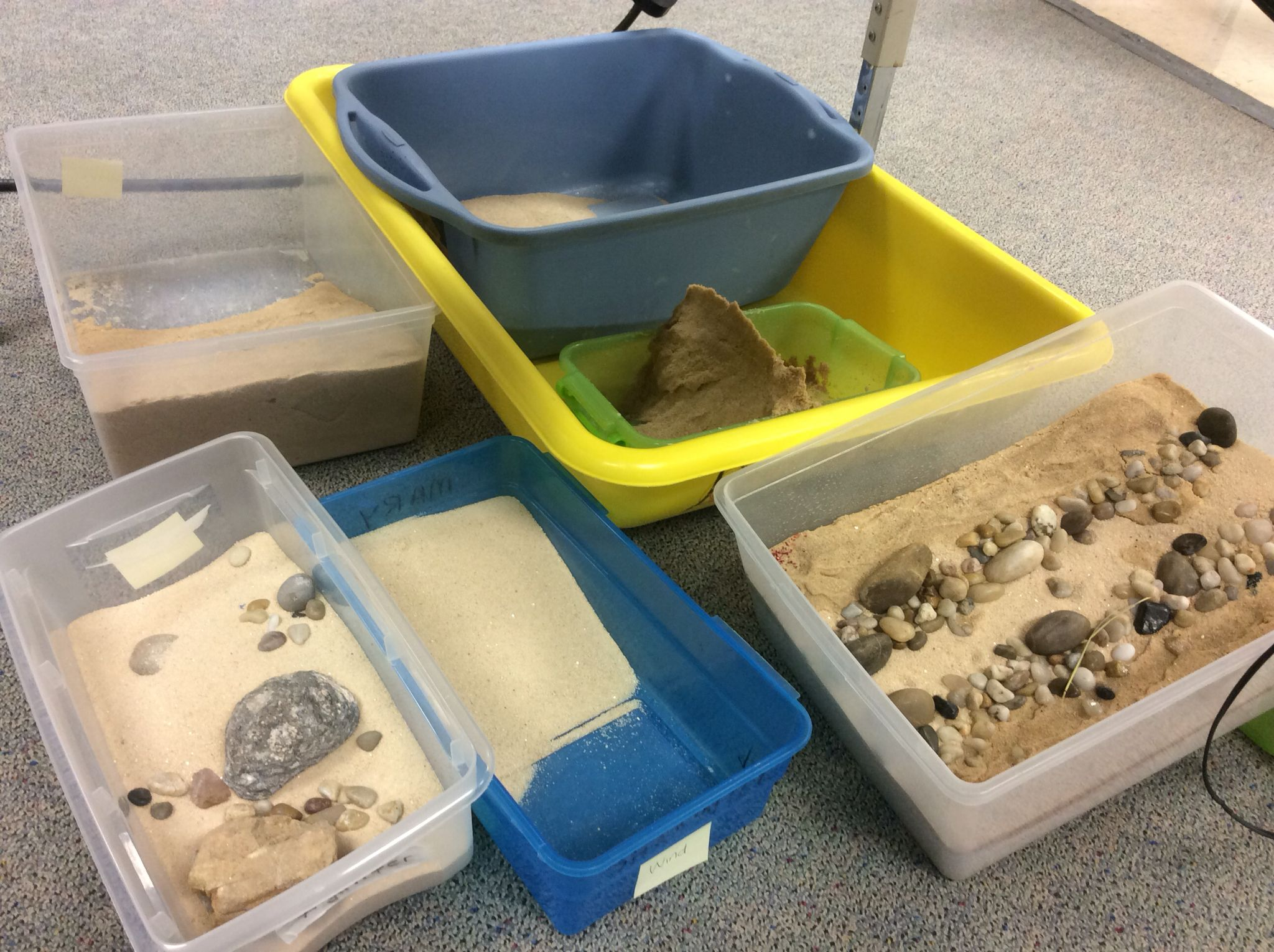 Erosion Weathering lesson. Students with Multiple Disabilities ...