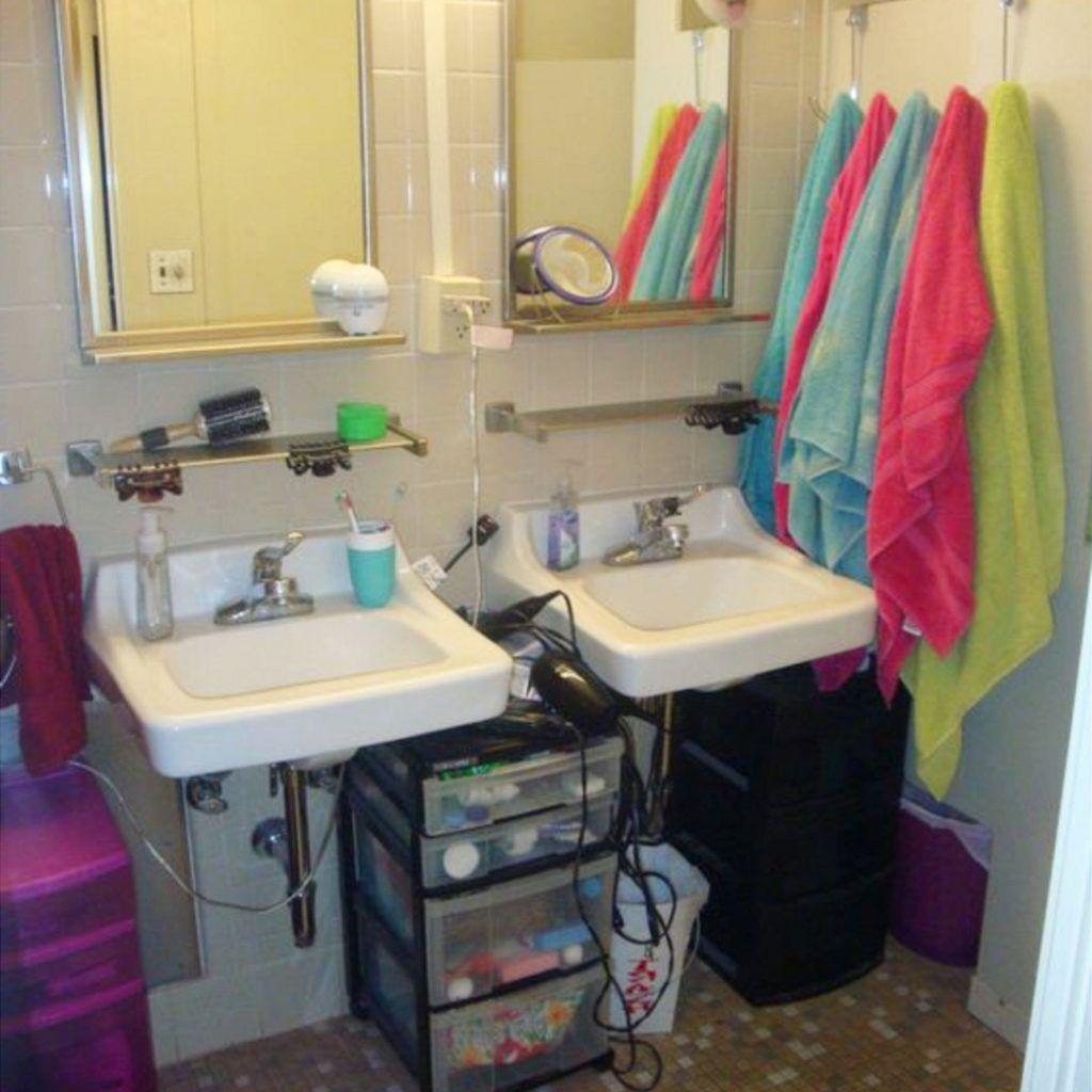 Miraculous Dorm Bathroom Ideas Survival Hacks Diy Dorm Bathroom Download Free Architecture Designs Pendunizatbritishbridgeorg