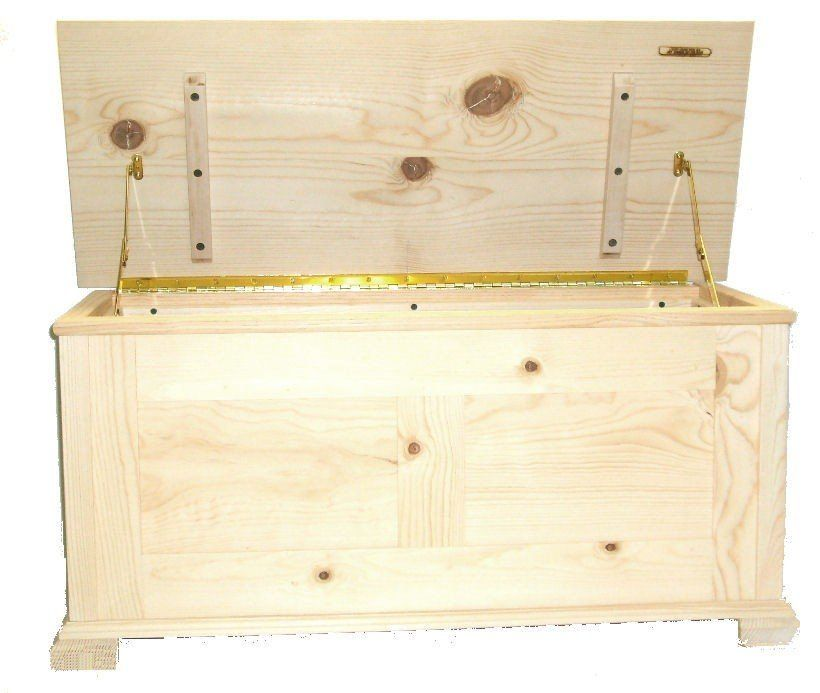 Hope Chest Unfinished Pine With Cedar Lining Wood Thecraftstar 269 95 Hope Chest Wooden Box Plans Unfinished Furniture
