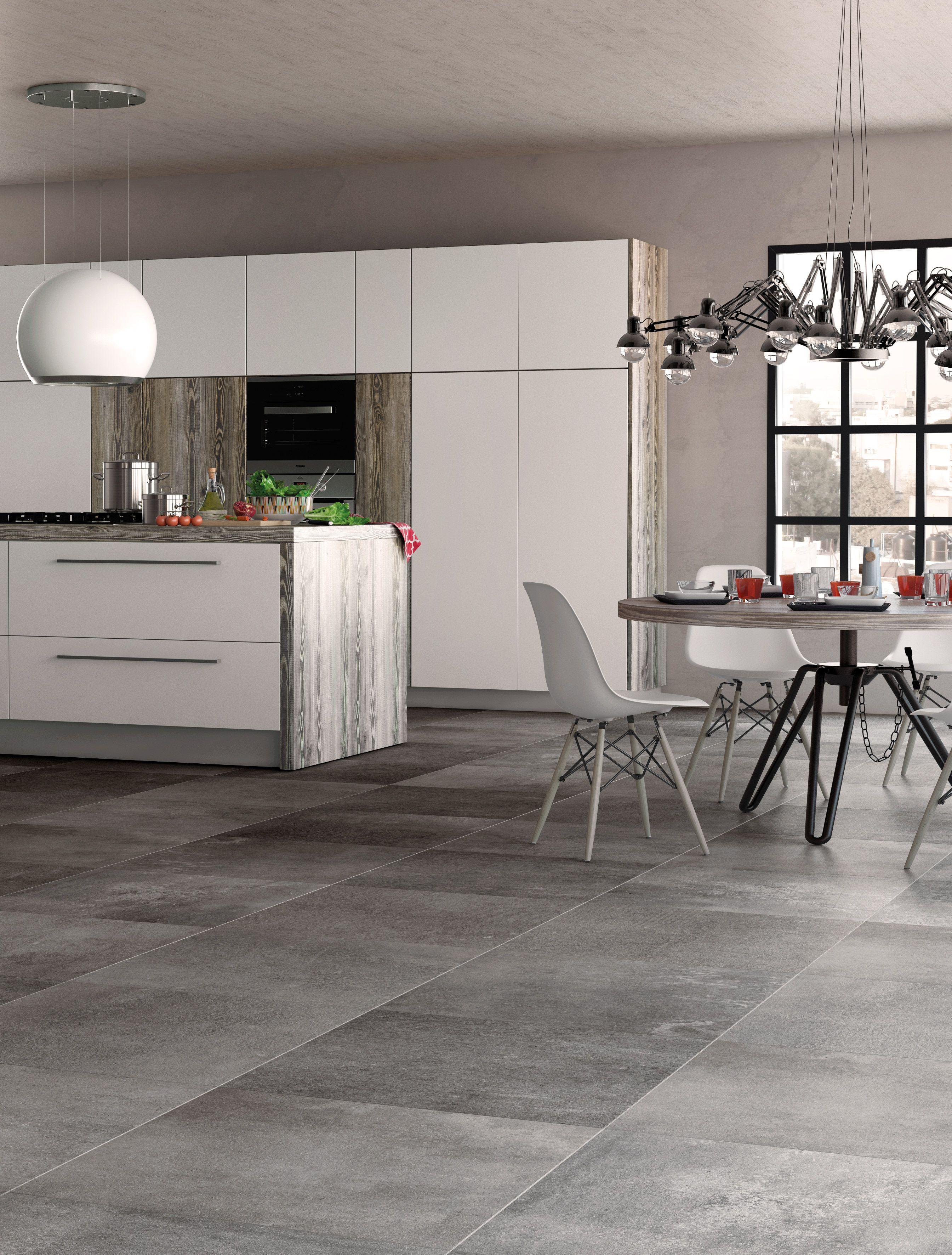 Panache Grey Floor Modern Kitchen Tiles House Tiles Grey Flooring
