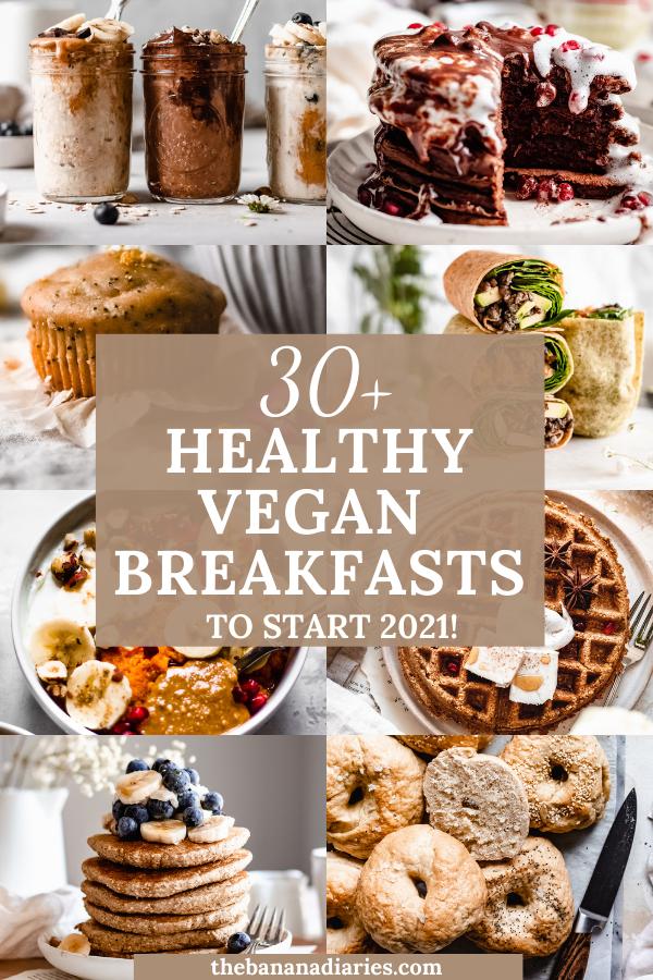 35 Easy Vegan Breakfast Recipes That Aren T Just Smoothies The Banana Diaries In 2020 Vegan Breakfast Recipes Vegan Breakfast Easy Easy Vegan Dessert