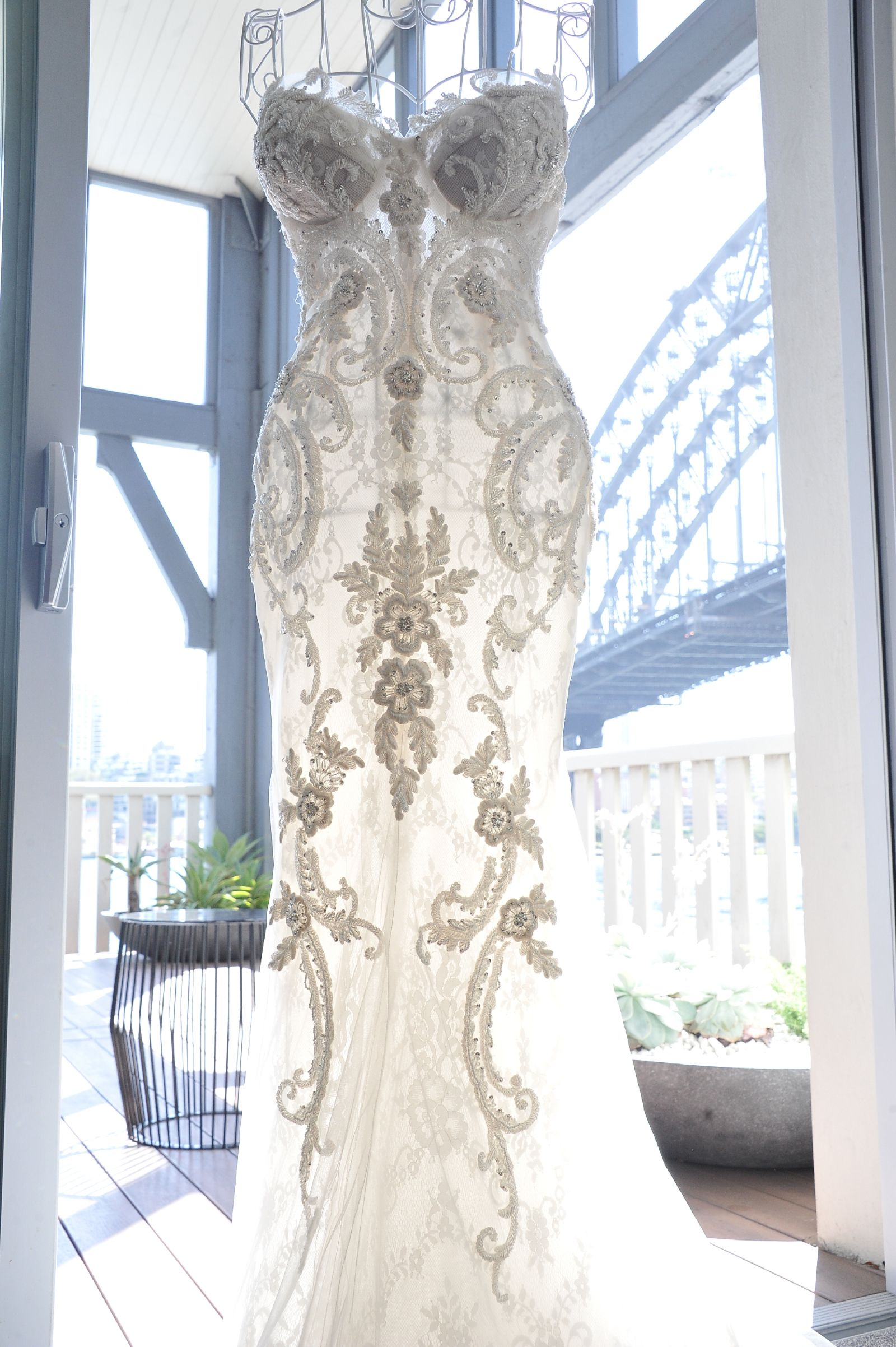 Steven khalil custom made size wedding dress weddings and wedding