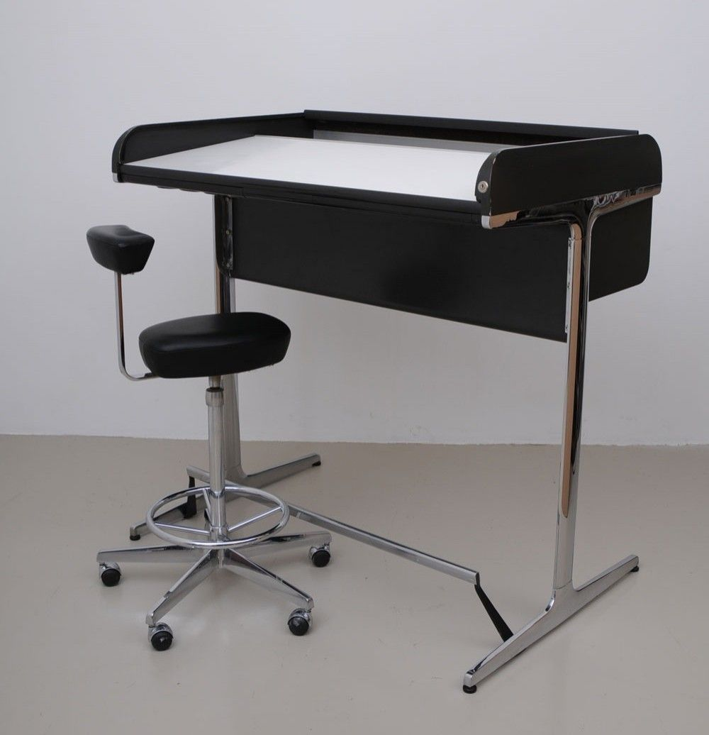 Charmant Action Office Writing Desk By George Nelson For Herman Miller, 1960s