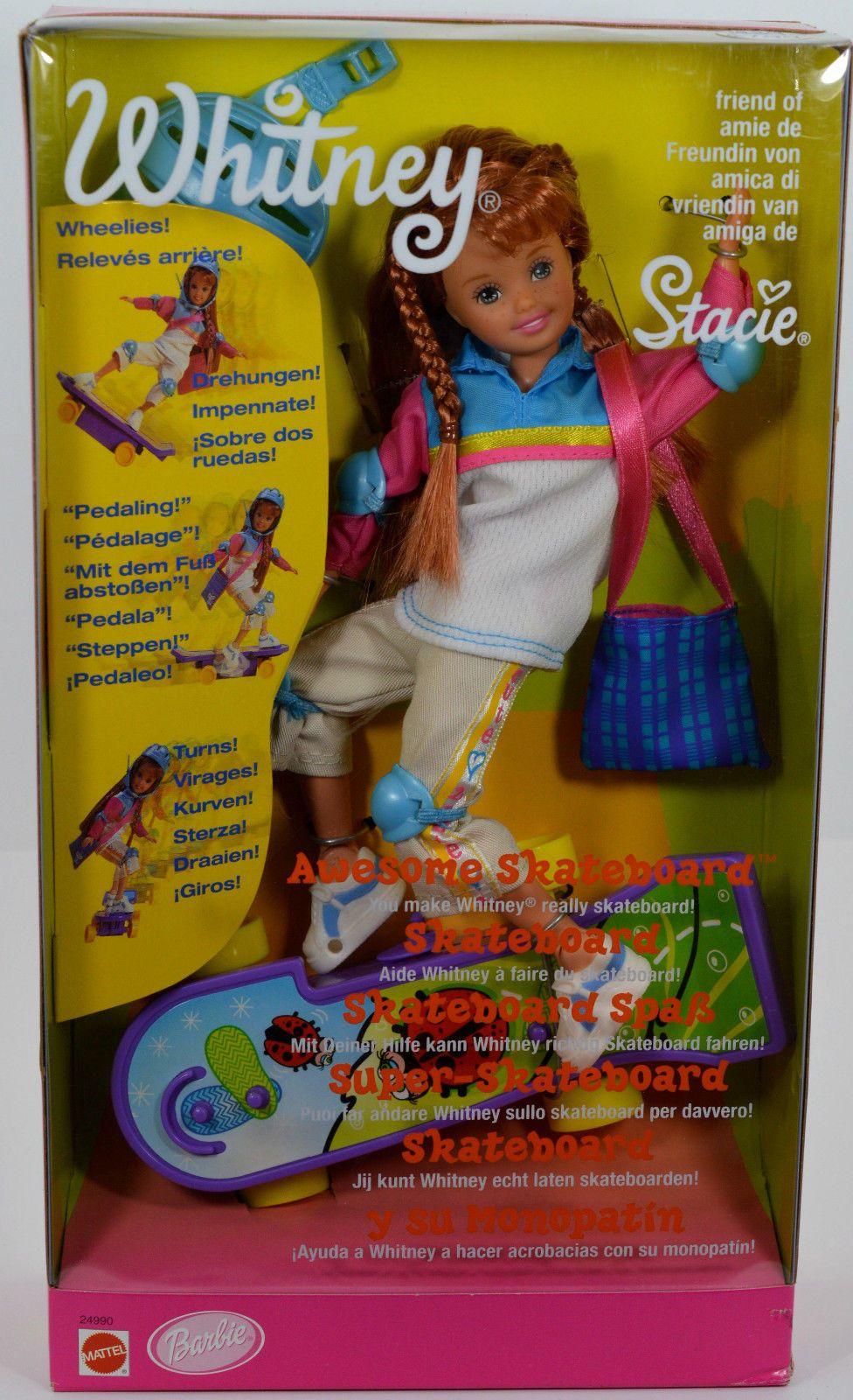 Image result for Awesome Skateboard Barbie Mattel