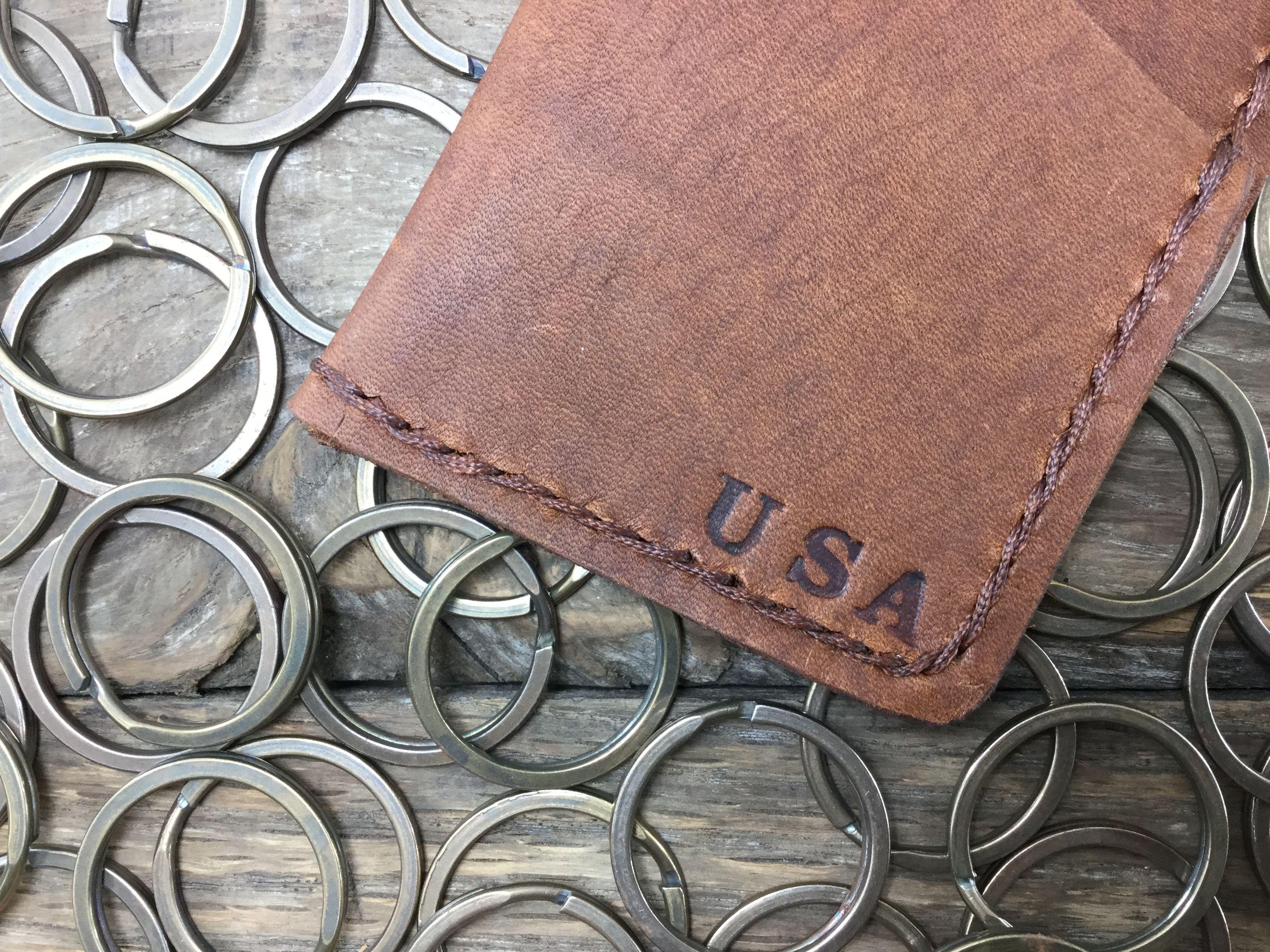 Front pocket wallet personalized wallet minimalist