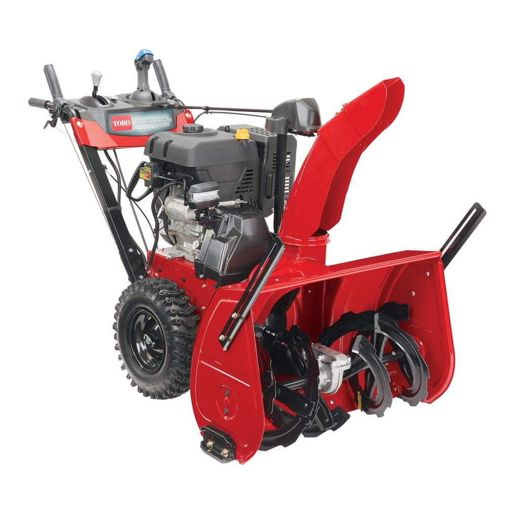 Toro Power Max Hd 1432 Ohxe 32 In 420 Cc Two Stage Electric Start Gas Snow Blower 38844 Gas Snow Blower Snow Plow Snow