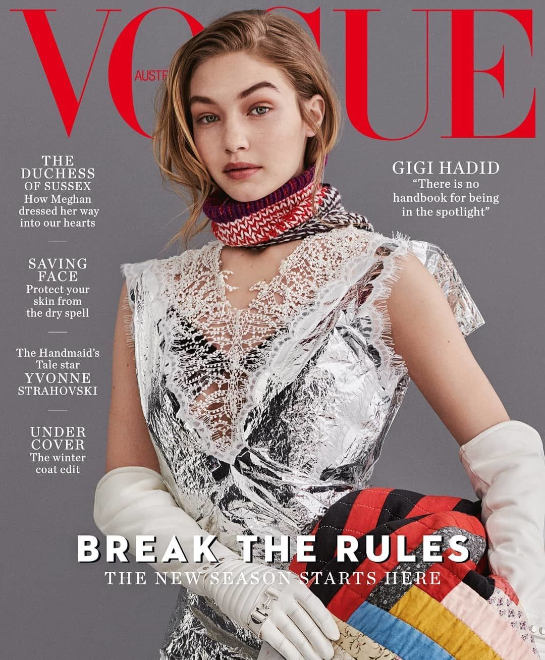 Every Gigi Hadid Vogue Cover All In One Place With