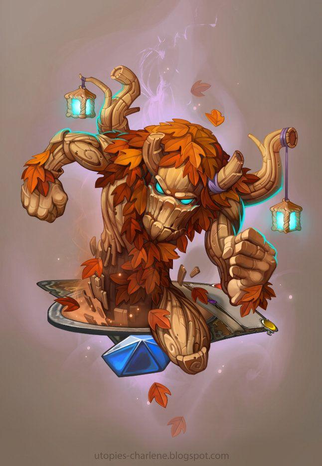 Hearthstone Ancient of Lore, Charlène Le Scanff | Warcraft art, Creature  design, Art