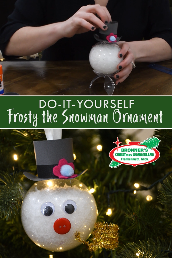 Photo of DIY Frosty the Snowman Ornament