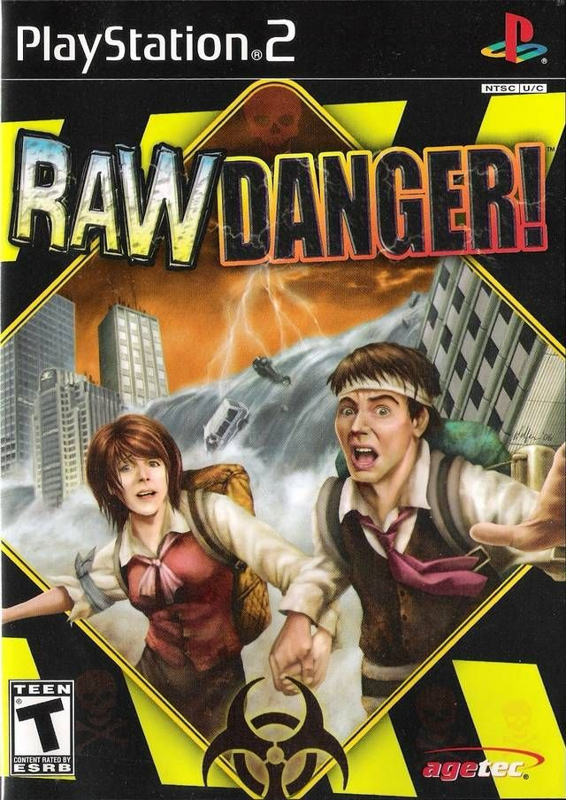 Raw Danger New Video Games Playstation