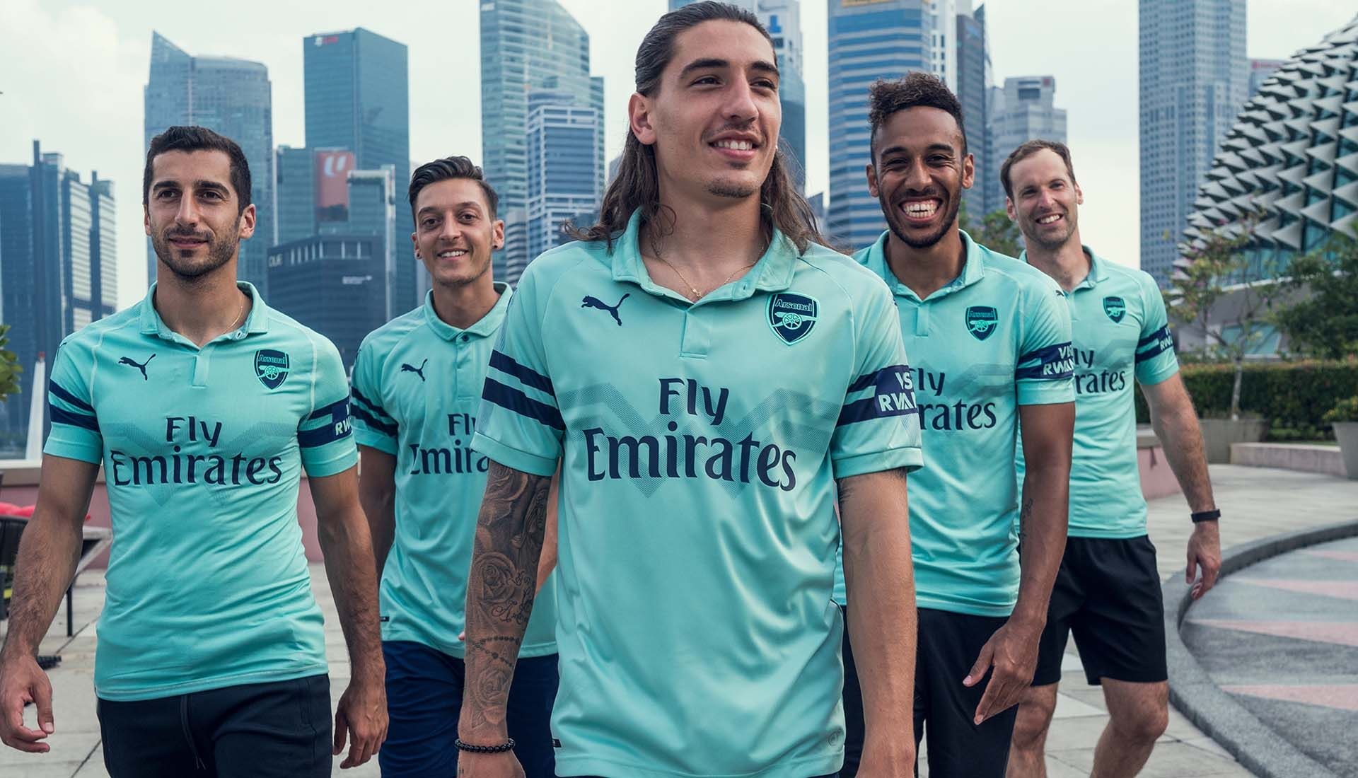 31c2aa5a Arsenal Third Kit 18-19 | Football | Arsenal shirt, Aubameyang ...