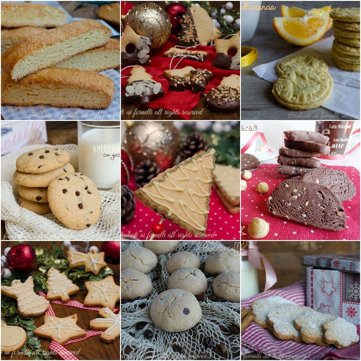 Ricette Di Biscotti Da Regalare A Natale.Biscotti Di Natale Da Regalare Biscotti Biscotti Cookies