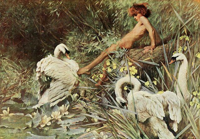 """Arthur Wardle (1864-1949), """"An idyll of summer"""" by sofi01, via Flickr"""